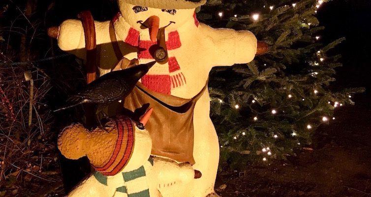 Dekoration und Organisation einer Weihnachtsfeier