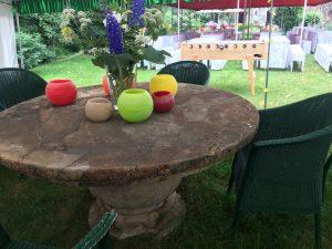 Tisch, Kicker, Jubiläumsfest