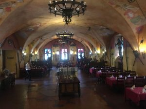 Festsaal Hochzeislocation Gewölbe für Hochzeitsfeier